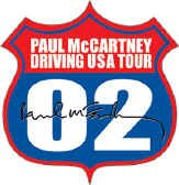 Paul McCartney Vinyl Sticker Driving USA Tour