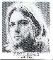Kurt Cobain Vinyl Sticker Face Photo Nirvana