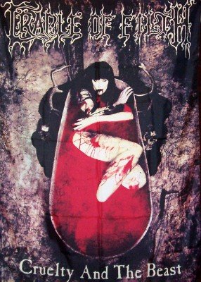 Cradle Of Filth Poster Flag Cruelty And The Beast