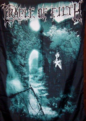 Cradle Of Filth Poster Flag Dusk And Her Embrace