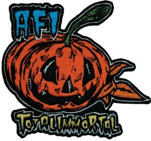 AFI Iron-On Patch Total Immortal Pumpkin