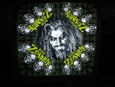 Rob Zombie Bandana Black Hellbilly Deluxe Tour