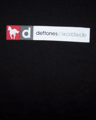 Deftones T-Shirt Worldwide Pony Black Size XL