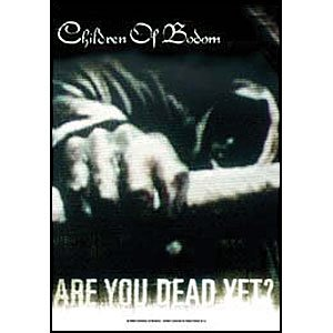 Children Of Bodom Poster Flag Are You Dead Yet Tapestry