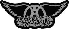 Aerosmith Vinyl Sticker Chrome Logo