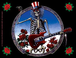 Grateful Dead Vinyl Sticker Electric Sam