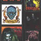 Rob Zombie Vinyl Sticker Set