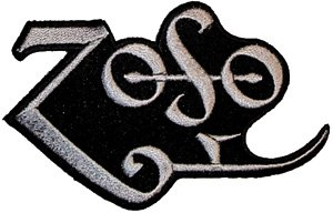 Led Zeppelin Iron-On Patch Zoso Logo