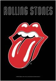 Rolling Stones Poster Flag Tongue Logo Tapestry
