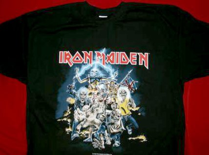 Iron Maiden T-Shirt Best of the Beast Black Size Medium