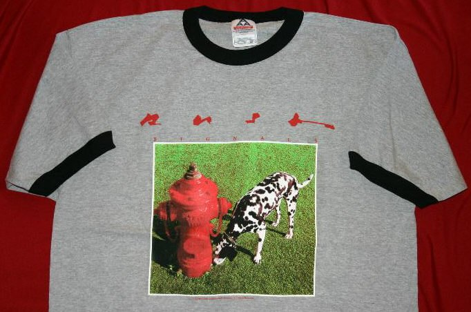 Rush Ringer T-Shirt Signals Gray Size XL