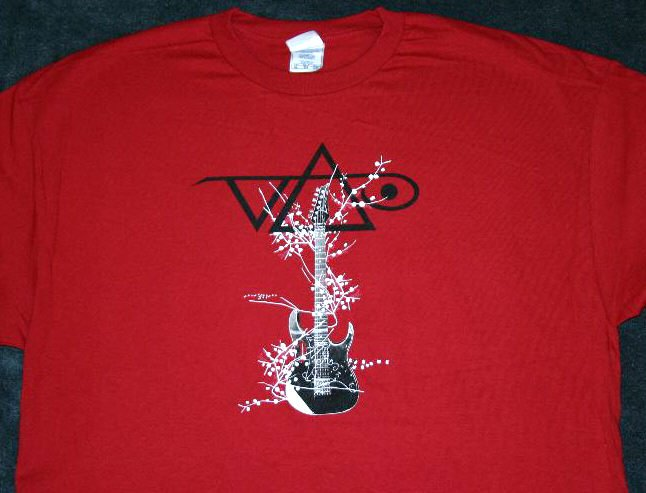 Steve Vai T-Shirt Roots Tour Red Size Small