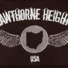 Hawthorne Heights Iron-On Patch Wings Logo