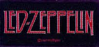 Led Zeppelin Sew On Patch Letters Logo