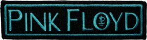 Pink Floyd Iron-On Patch Blue Logo
