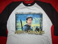 Army of Darkness Jersey Shirt Photo Logo Size XL
