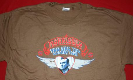 Morrissey T-Shirt Quarry Brown Size Medium