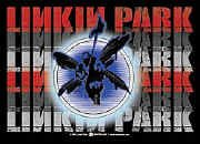 Linkin Park Poster Flag Soldier Multi Logo Tapestry
