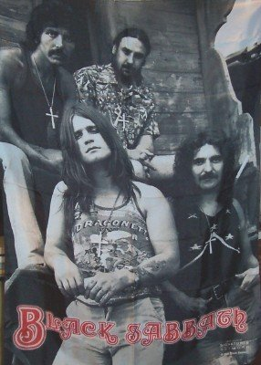 Black Sabbath Poster Flag Band Photo Tapestry