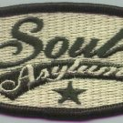 Soul Asylum Iron-On Patch Oval Star Logo