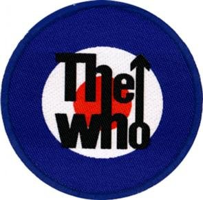 The Who Sew On Patch Target Logo
