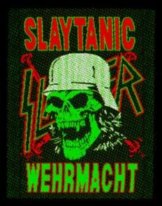 Slayer Sew On Patch Slaytanic Wehrmacht