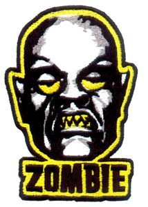Rob Zombie Iron-On Patch Face Logo