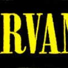 Nirvana Iron-On Patch Letters Logo