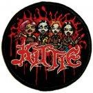 Kittie Iron-On Patch Circle Cartoon Logo