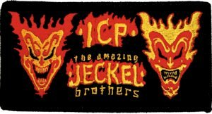 Insane Clown Posse Iron-On Patch Jeckel Brothers