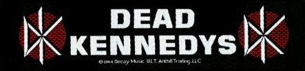 Dead Kennedys Sew On Patch Brick Strip Logo