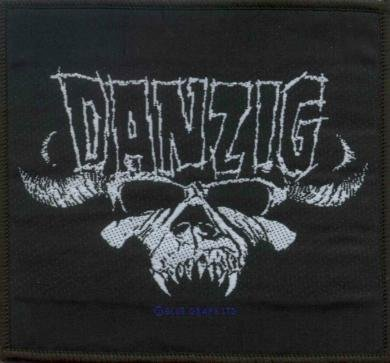 Danzig Sew On Patch Cow Skull Logo