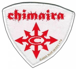 Chimaira Sew On Patch Red Arrows Logo