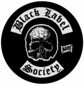 Black Label Society Iron-On Patch Skull Logo