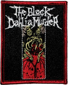 Black Dahlia Murder Iron-On Patch Squid Logo