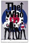 The Who Vinyl Sticker Group Bulls Eye