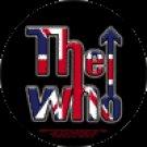 The Who Vinyl Sticker Bulls Eye Circle