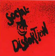 Social Distortion Vinyl Sticker Spray Logo