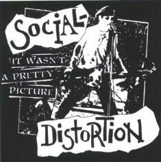 Social Distortion Vinyl Sticker Pretty Picture