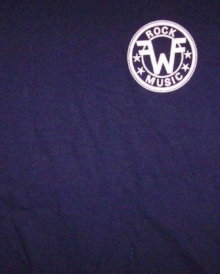 Weezer T-Shirt 22 Logo Navy Blue Size XL