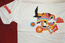 Zwan T-Shirt Sleeve Logo White Size XL