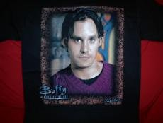 Buffy the Vampire Slayer T-Shirt Xander Black Size Medium
