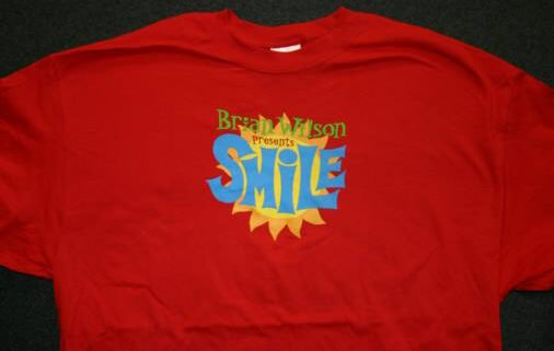 Brian Wilson presents Smile T-Shirt Red Size Small