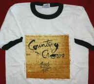Counting Crows Ringer T-Shirt August and Everything After White Size XL