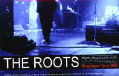 The Roots Vinyl Sticker Stage Photo Logo