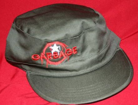 Garbage Combat Hat Cap Olive Green Size Medium