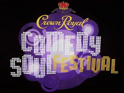 Crown Royal Comedy Soul Festival T-Shirt Black Size Medium CLEARANCE