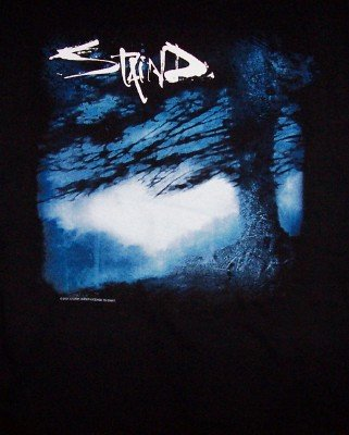 Staind T-Shirt Break the Cycle Tour 2001 Black Size Medium
