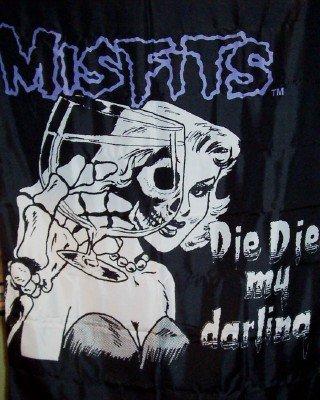 Misfits Poster Flag Die Die My Darling Tapestry