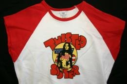 Twisted Sister Babydoll Shirt '76 Logo Size Medium